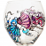 Jellyfish Wine Glasses Hand Panted Free Personalization