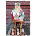Cooking With Claus Christmas Sculpture Decorative Brain Kidwell