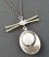 Sterling Cupped Pearl & 14kt-Gold-filled Necklace
