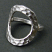 Hammered Open Circle Ring