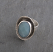 Amazonite Bezel Oval Ring