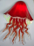 "Red Jellyfish Sconce"" by Joel Bloomberg"