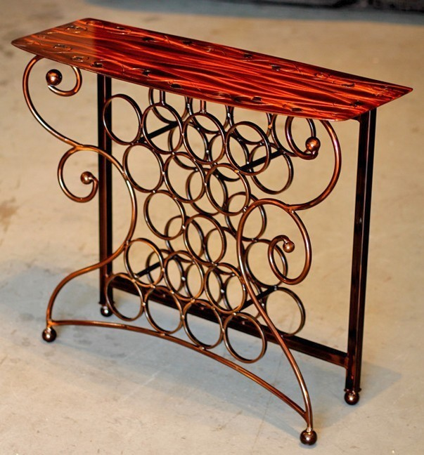 Good ... Wine Storage Table By Iron Chinchilla · Click To Zoom