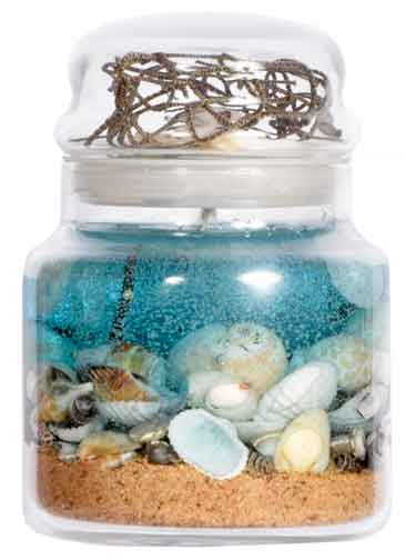 scented beach essence candles