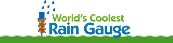 World's Coolest Rain Gauge™