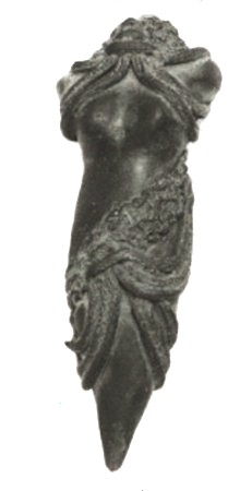Goddess Pencil Graphite Sculpture
