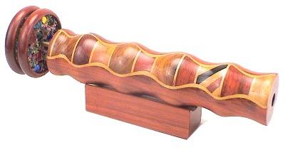 "Kaleidoscope Elegant Wooden w/ 2"" Wheels  7 1/2"