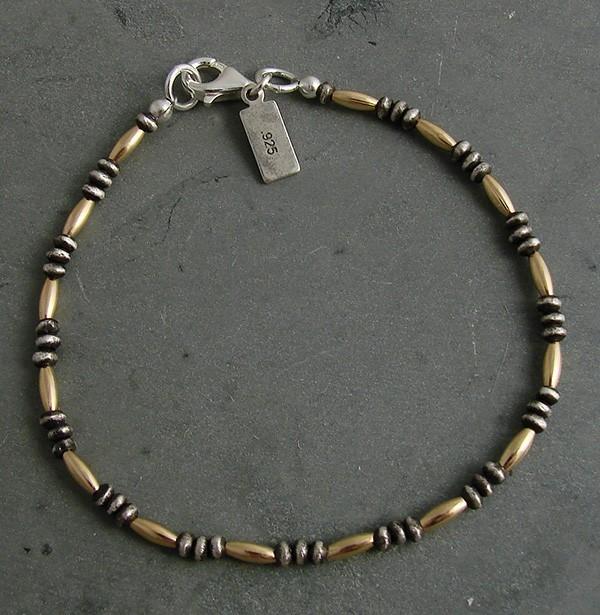 Sterling and 14kt Goldfill Bracelet