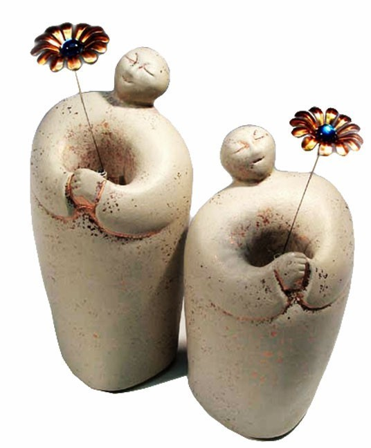Soul Mates Solar Figurines by Sunblossom