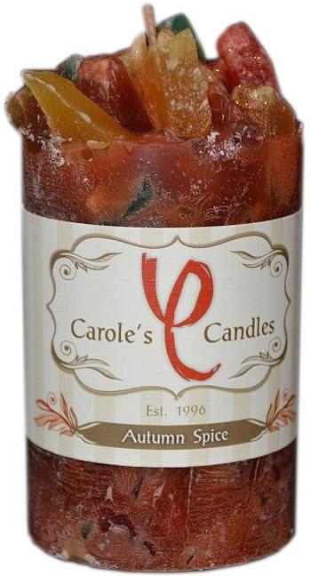 Autumn Spice Pillar Candle