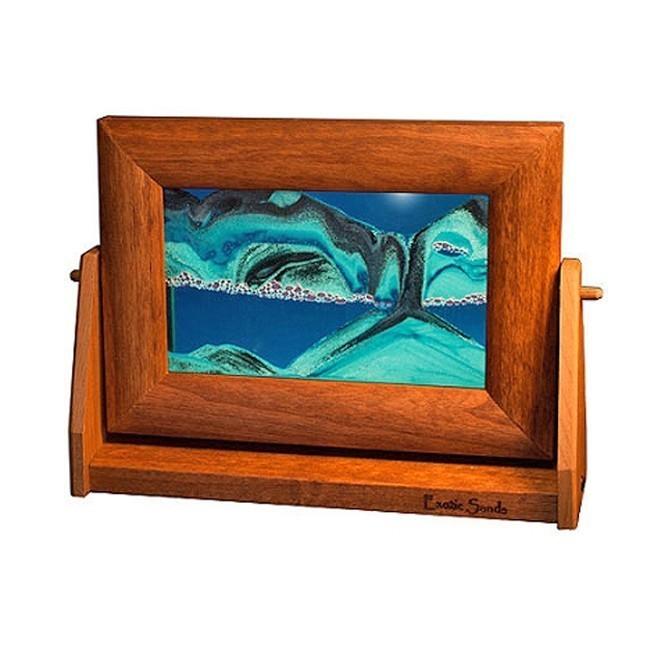 Alder Moving Ocean Blue Sand Pictures Sm.