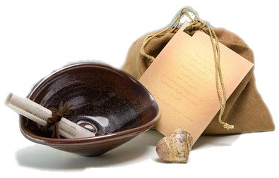 Earthen Healing Bowl by Blessings Bowl