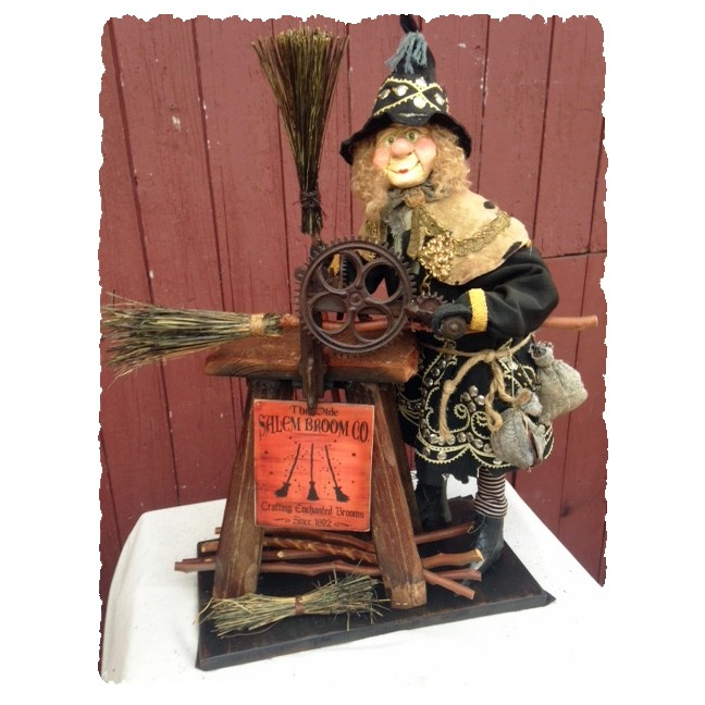 Broom Maker Witch