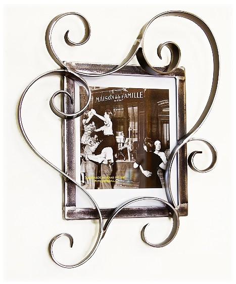 8x10 Picture Frame Contemporary Bloom   4 finishes