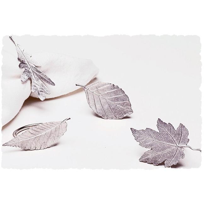 Leaf Napkin Rings