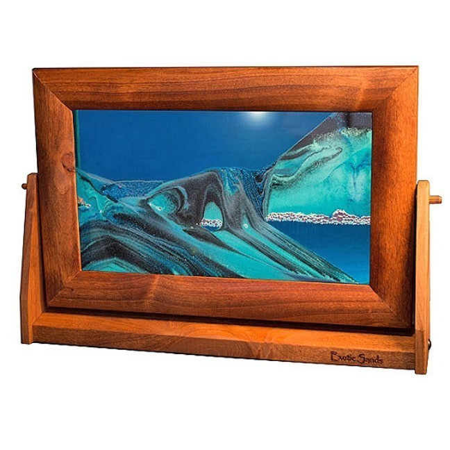 Moving Sand Pictures Ocean Blue  Lg.