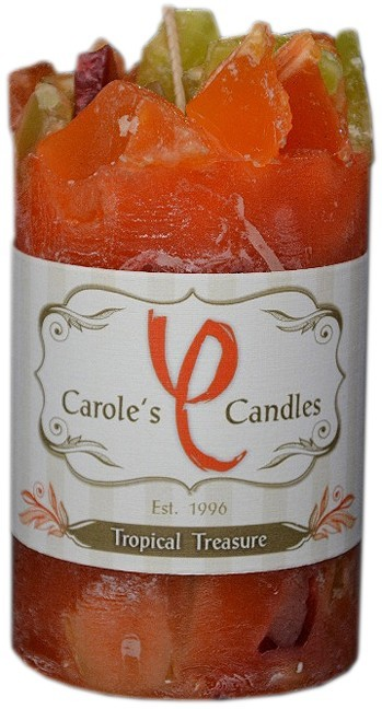 Scented Candle Tropical Treasure