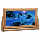 XX-Large Cherry Moving Sand Pictures Ocean Blue