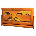 Sand Art Picture XLarge Sunset Orange