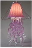 Jellyfish Table Lamp Amethyst Double Dome 10 Colors