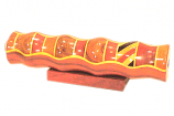"Wooden Teleidoscope Marquetry Pattern 7"""