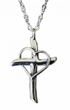 Promise Cross Sterling Silver Pendant by Patrick Neuwirth