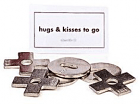 ♥ Hugs & Kisses Pocket Charms Bulk 50 Piece ♥Only $1.54ea USA FREE SHIPPING