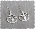 Sterling Tree of Life Earring