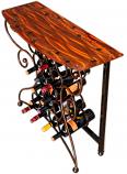 Vino Wine Storage Table | 4 finishes by Iron Chinchilla