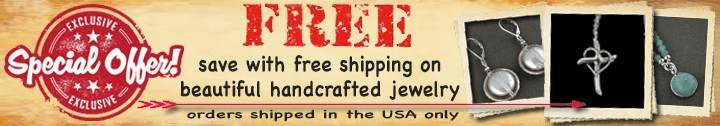 save with free shipping on beautiful handcrafted jewelry