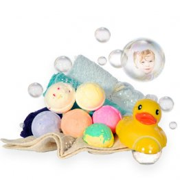 Kids' Bath Bomb Fizzies (6 Pack)