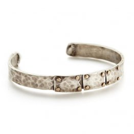 Industrial Rivet Mens Cuff