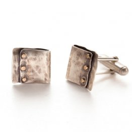 Industrial Rivet Men Cuff Links