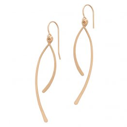 Wishbone Earrings 14kt Gold Fill