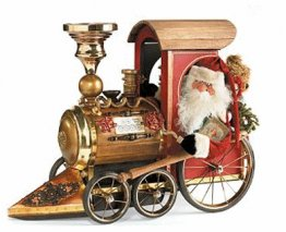 Krash Kringle Holiday Train | Handcrafted Santa