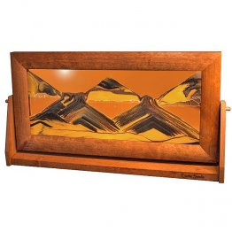 Moving Sand Art Picture XLarge Sunset Orange - Alder