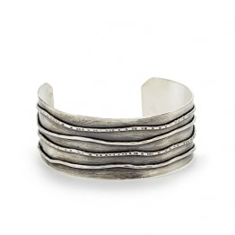Undertow Cuff - Sterling Wide Band Cuff