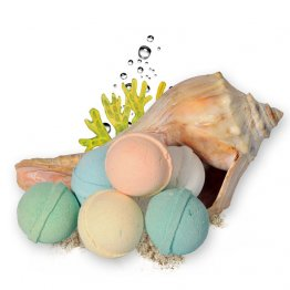 Seaside Calming Bath Bombs Fizzies