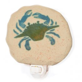 Green Blue Crab Nightlight