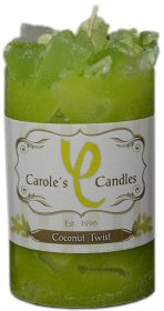 Chunk Candle Coconut Twist