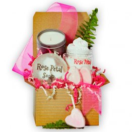 Enchanted Rose Bath Gift Box