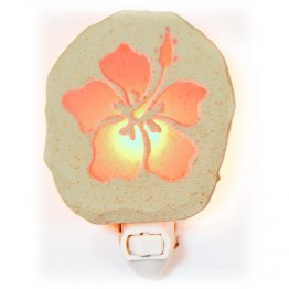 Pink Hibiscus Nightlight