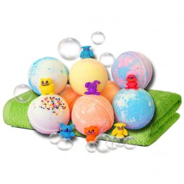 Large Kids Bath Bombs with a Surprise Toy