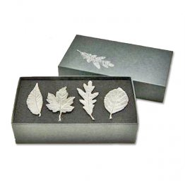 Leaf Napkin Rings