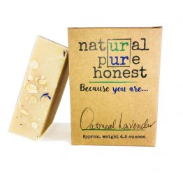 Oatmeal Goat Milk Soap and Lavender, Oatmeal Goat Milk Soap