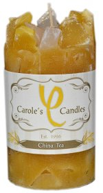 Pillar Candle China Tea
