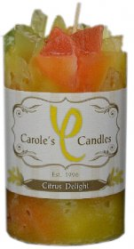 Slow Burn Candle Citrus Delight