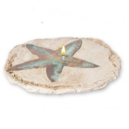 Starfish Rock Oil Candle