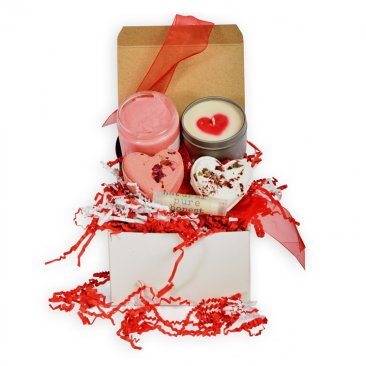 Romance in a Box Bath Gift Set