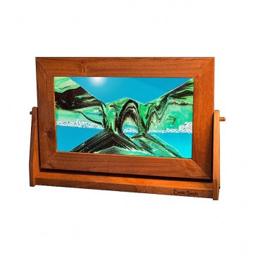 Alder Moving Sand Pictures Summer Turquoise Lg